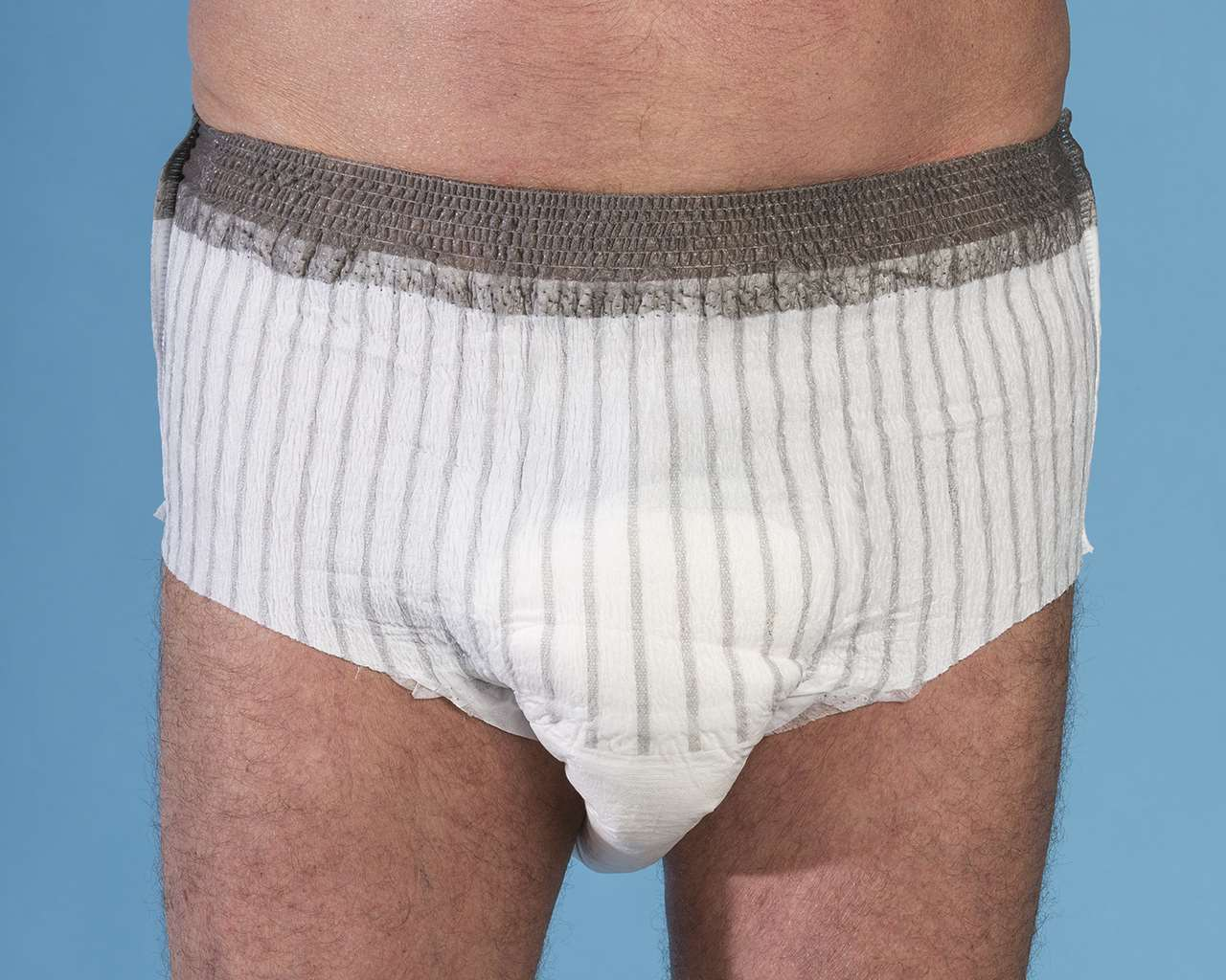 Masculine design disposable pants