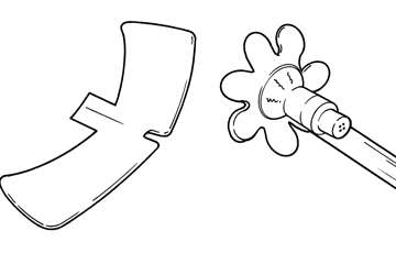 Modified sheath - line drawing